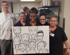 Qué debe esperar si contrata a varios artistas de caricaturas para su evento en CT, MA, RI y NH