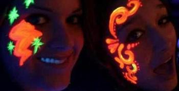 Maquillaje artístico UV