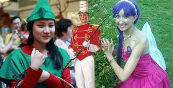 Personajes de la Navidad y del invierno
