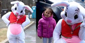 La visita del Conejo de Pascua