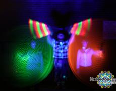 Hula hoops de LED y Poi